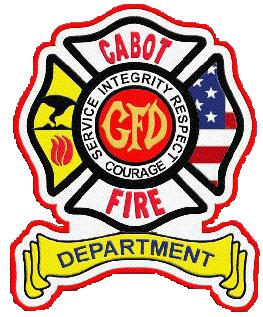Cabot Fire Department Patch